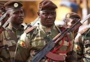 西非国家马里士兵。资料图。图片来源:新华网