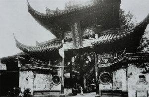 近代杭州灵隐寺旧影