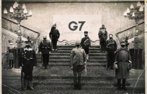 乌合麒麟新作讽刺G7外长会:120年了 还在做梦