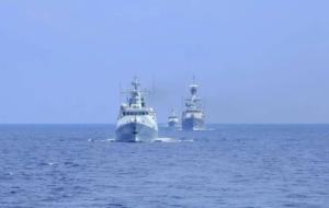 中国印尼海军举行海上联合演练