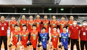中国男排四年来首次击败日本队