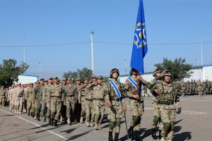 集安组织反恐军演在塔吉克斯坦举行