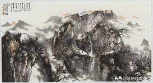 巧用透视技法 寻找留白时机——著名画家贾荣志提升山水写意画意境的成功心得