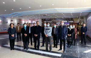 山东省派潍坊高密市乡村振兴服务队参访得利斯集团