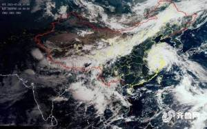 """受台风""""烟花""""影响,7月28-30日山东有大到暴雨局部大暴雨"""