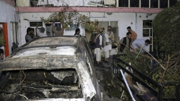 Video shows last US Afghan strike may have targeted aid worker: NYT