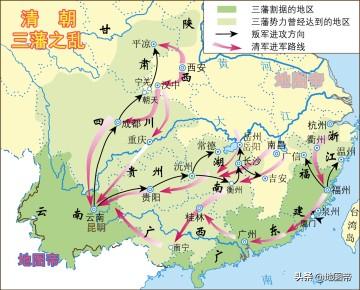 吴三桂的三藩军前期控制半壁天下,为何后期土崩瓦解?