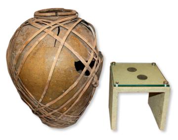 四渡赤水纪念馆里为何展出一个篾条补好的破陶罐和两个铜板?