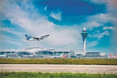 广州国际综合交通枢纽地位持续提升 白云机场去年旅客吞吐量居全球首位
