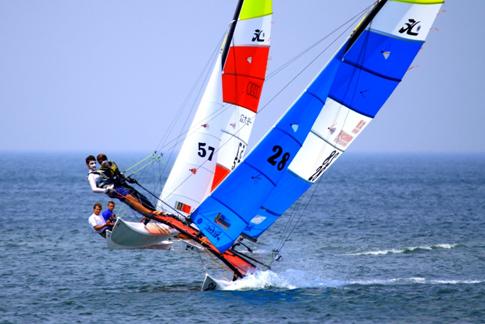 第一个由地方举办的中国HOBIE帆船公开赛开启招募,6-9月在威海等你乘风破浪_山东站_中华网