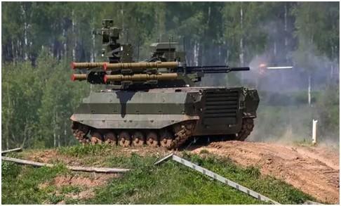 俄陆军明年列装新型战斗机器人有何战略考量?
