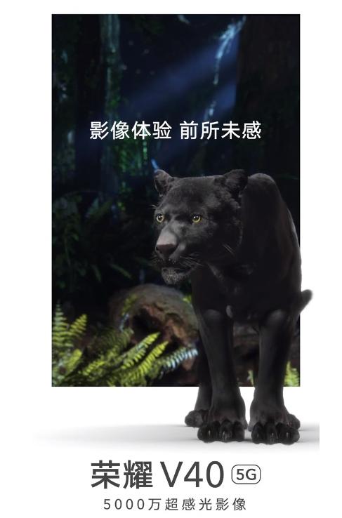 荣耀V40 5G新机核心配置已公布 1月18日正式发布
