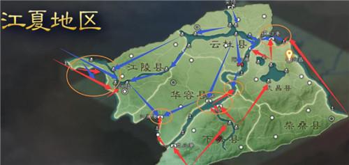 三国志战略版S7赤壁之战行军路线图汇总 S7赤壁之战地图水战打法教程攻略