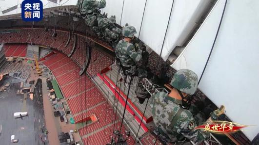 20秒 50米!41名特战官兵在《伟大征程》里首次挑战高难度