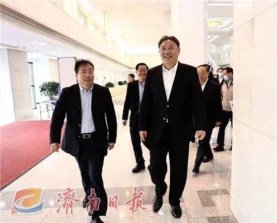 两任济南市委书记北京会谈,为建设新时代现代化强省会助力