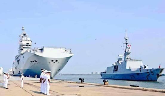 """美盟友都派哪些战舰来南海""""瞎搅和"""""""