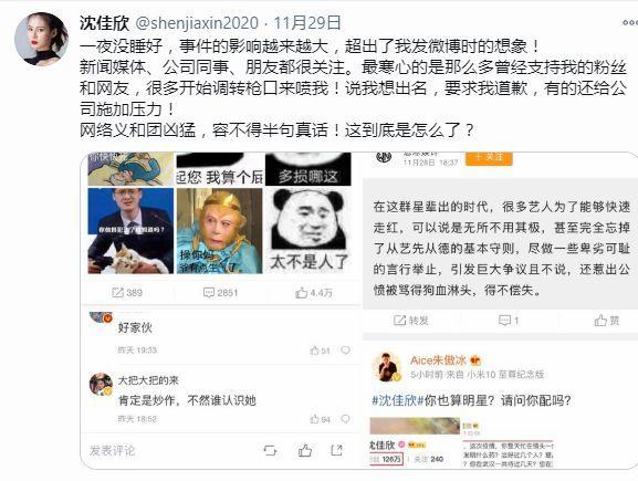 疑似沈佳欣的海外社交账号再发文攻击钟南山院士
