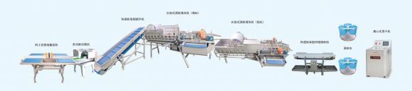 节省人力,提高效率:北京净菜加工设备专家新兴荣福净菜加工设备推荐
