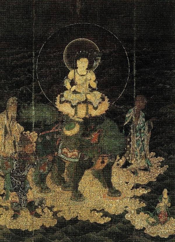 日本醍醐寺藏《文殊渡海图》