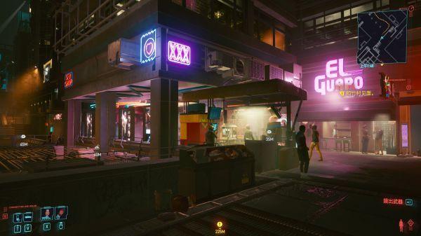 赛博朋克2077扭扭街橙装短裙位置图文介绍 2077夜店地点汇总快速怎么进