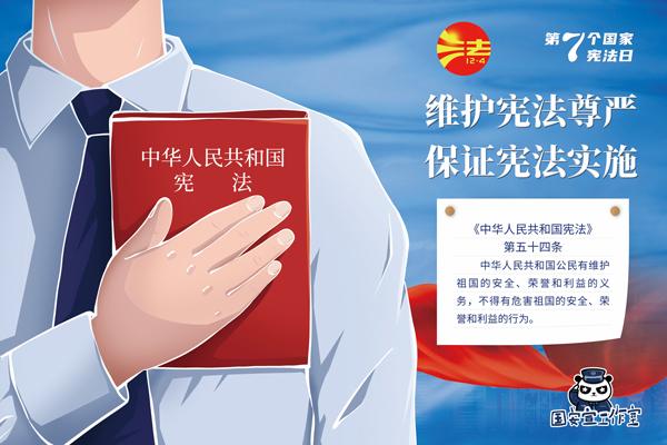 大力弘扬宪法精神 依法维护国家安全