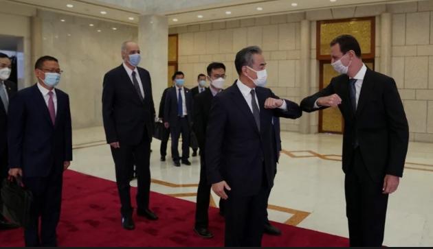 """中国要""""全面进入叙利亚""""?"""