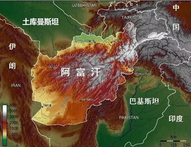 塔利班警告印度不要试图在阿富汗扮演军事化角色