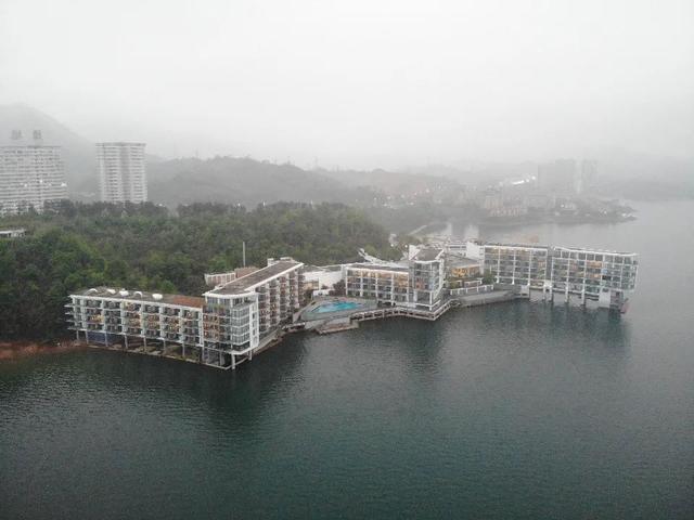 被中央督察组点名后,黄山完成太平湖部分违建拆除