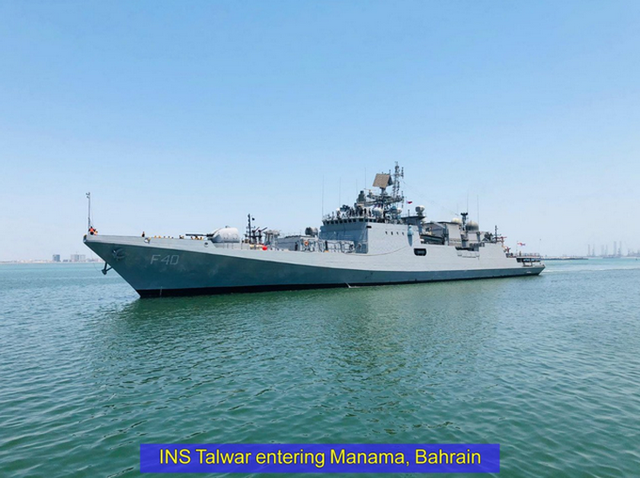 印度派9艘军舰赴4国运氧气