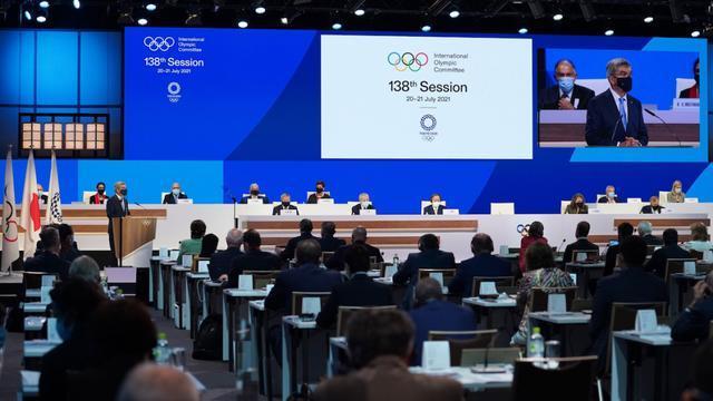 """奥林匹克格言""""更快、更高、更强""""之后,增加""""更团结"""""""