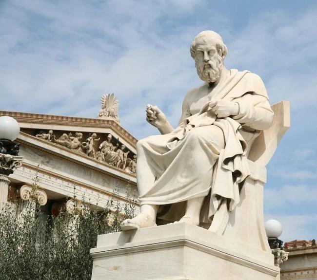 ▲ 古希腊哲学家柏拉图