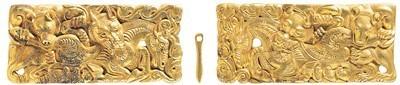 西汉金带扣。  徐州博物馆供图