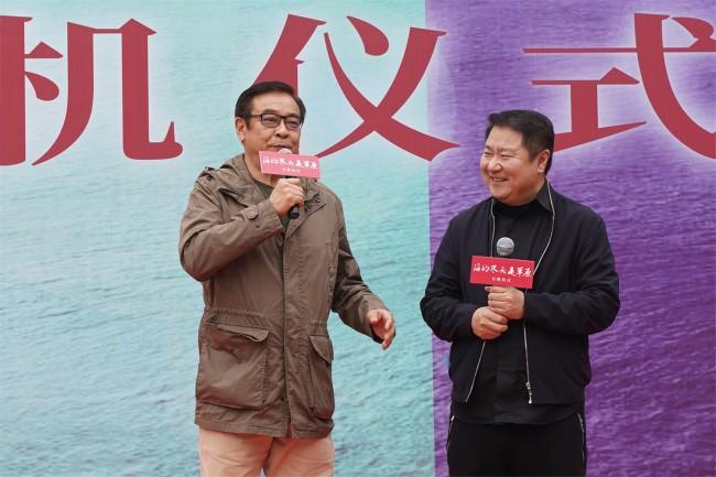 尔冬升陈宝国首度合作《海的尽头是草原》如期开机