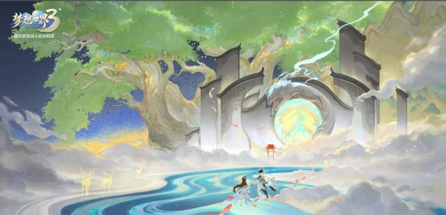 """【图2:《梦想世界3》双端全新地图""""神秘岛""""】.png"""