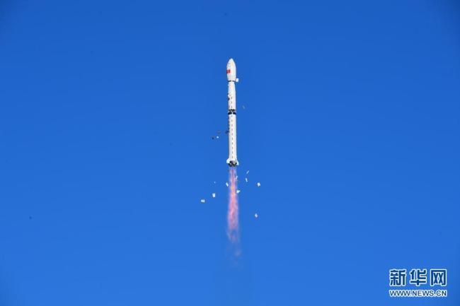 我国酒泉成功将风云三号05星送入预定轨道 发射任务圆满成功
