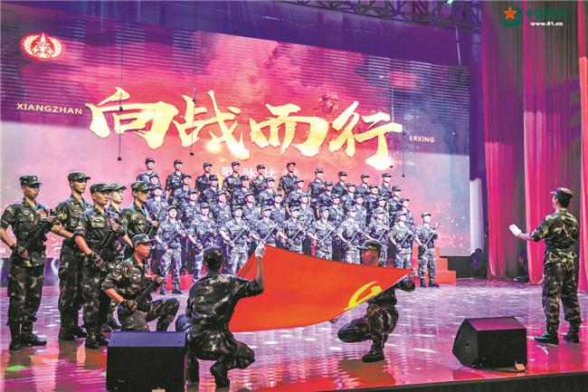 """火箭军部队广泛开展""""砺剑战歌""""传唱活动"""