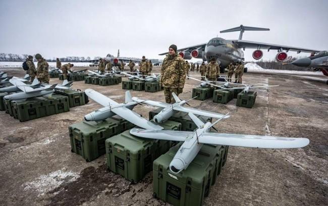 美宣布军事援助乌克兰两部雷达几架无人机