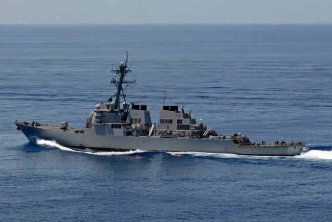 美舰频繁穿航台海 还有这层险恶意图