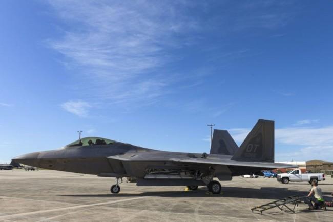 美国空军F-22A隐身战斗机 资料图