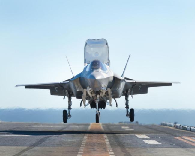 日本将在九州岛部署F-35B战机
