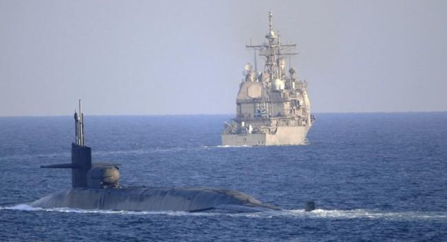 美国海军舰艇 资料图