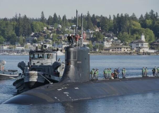 赵立坚的话,揭示美国核潜艇在南海事故的另一种可能?