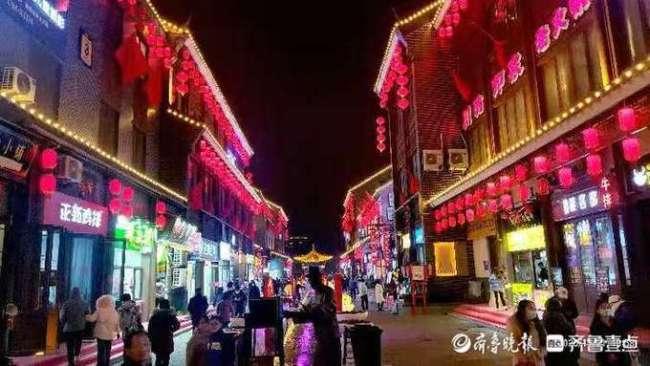打卡泰安老街,感受浓郁中国风