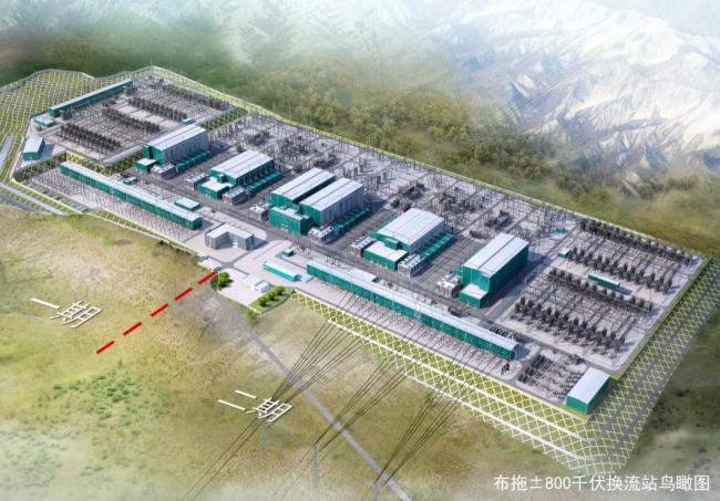 国家电网白鹤滩—江苏±800千伏特高压直流工程开工