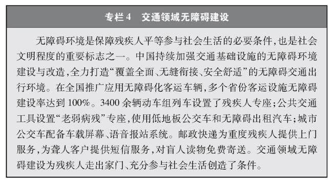 (图表)[受权发布]《中国交通的可持续发展》白皮书(专栏4)