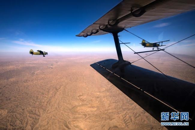 铁翼为犁 播种春天——空军某运输搜救团一大队飞播造林39年记事