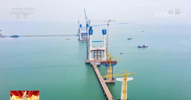 【春节在岗位】深中通道不停工 超3000名建设者坚守建设一线
