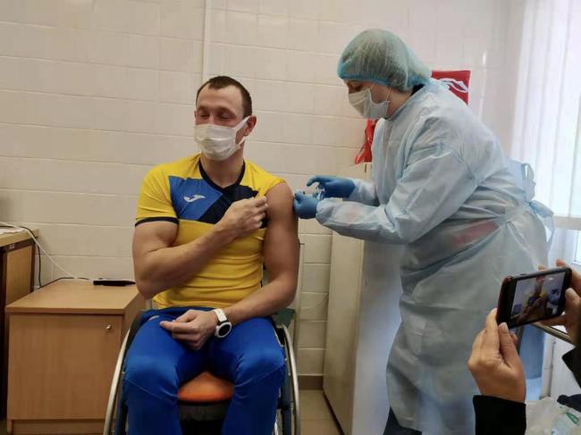 乌克兰750人奥运代表团将全部接种中国新冠疫苗