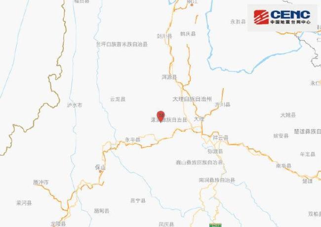 云南漾濞连续地震 救援力量正集结