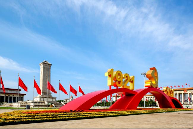 天安门广场景观延期保留至7月31日